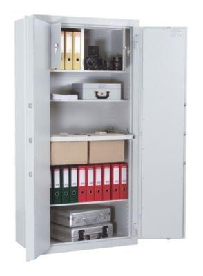 Stahlbüroschrank - VDMA B und S2 - HxBxT 1950 x 700 x 500 mm - Aktenschrank Datensicherungsschrank Datensicherungsschränke Dokumentenschrank Papiersicherungsschrank Papiersicherungsschränke Safe Schrank Stahlschrank Tresor Wertschrank Wertschränke