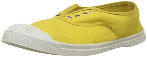 Bensimon - F15149C15C - TENNIS ELLY - Baskets - Femme - Jaune (jaune 0209) - 39 EU