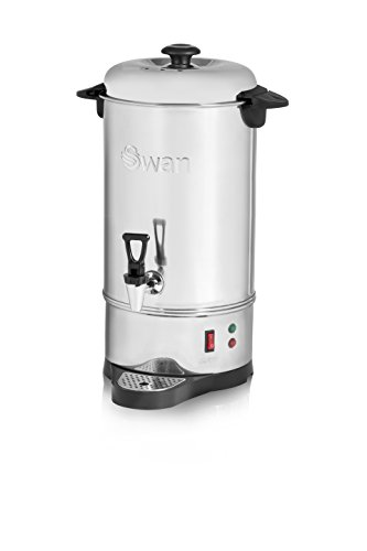 Swan SWU10L 10 Litre (40 cup) Commercial Stainless Steel Catering Urn / Water Boiler
