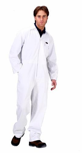 Click Cotton Drill Boilersuit White - 40