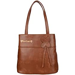 TASCHEN Westside Clolor Bar Kajal Super stylish LifeStyle High quality Revlon women's shoulder hand bags V fitting (172 Brown)