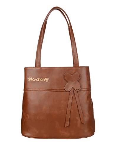 TASCHEN Westside Clolor Bar Kajal Super stylish LifeStyle High quality Revlon women's shoulder hand bags V fitting (172 Brown)