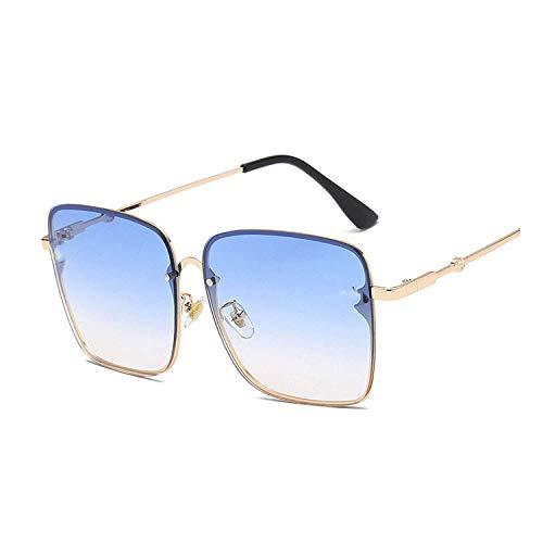 YSA Klassische Sonnenbrille Sport-Sonnenbrille Übergroße quadratische Sonnenbrille Männer Frauen Promi-Sonnenbrille Männlich Fahren Weiblich Shades Uv400
