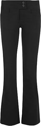 Pantalon Femme 34 - WearAll - Noir étirer Pantalon - Bootcut
