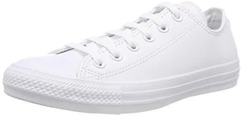 Converse Ct Mono Lea Ox, Unisex - Erwachsene Low-top Sneaker, Weiß (White 100), 38 EU