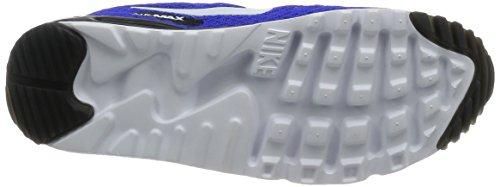 Nike Air Max 90 Ultra Br Plus Qs, Scarpe da Corsa Uomo, Blu Blu / Bianco / Grigio / Nero (Racer Blu / Bianco-Grigio Scuro-BLK)