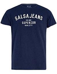 ffbc31db58 Salsa Camiseta de Branding Jeans