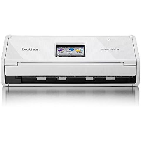 Brother ADS-1600W Scanner Desktop Professionale con Fronte/Retro,