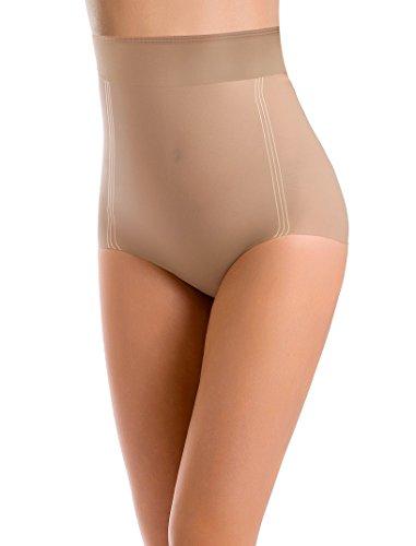 Envie Damen Shapewear Exclusive Miederslip Figurformend Slip-Modellierung Naturale