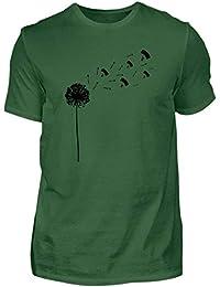 6ad9dd9762671b Pusteblume Shrit Paragleiter - Fallschirmspringer Geschenk - Paragliding -  Made in Germany - Herren Shirt