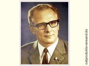 Ostprodukte-Versand.de Erich Honecker - großes Bild | DDR Traditionsprodukte | DDR Waren