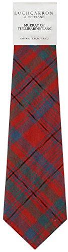 Preisvergleich Produktbild Murray Of Tullibardine Tartan (alte) Weiche Schurwolle, Mens Tie