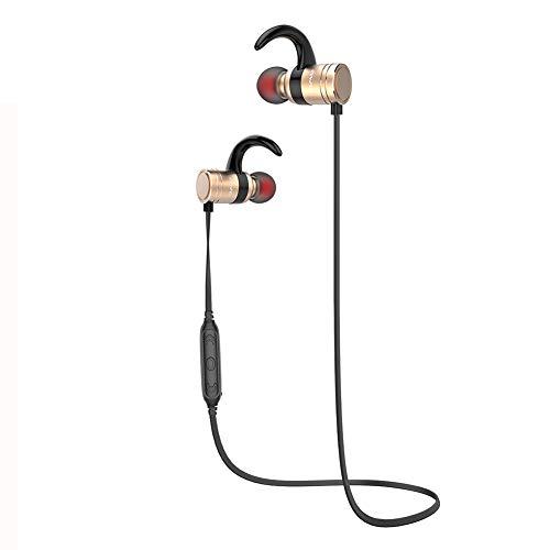 DANGSHUO Auriculares inalámbricos Bluetooth 4.1 IPX4 impermeables CVC 6.0 con cancelación de ruido