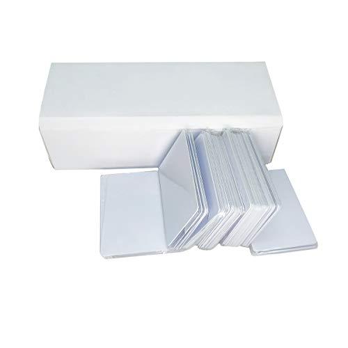 Tintenstrahl PVC Karten (200 Stück) Bedruckbar und Wasserdicht Kompatibel für alle Tintenstrahl Drucker Drucken,Doppelseitig Bedruckbar - Karten-drucker