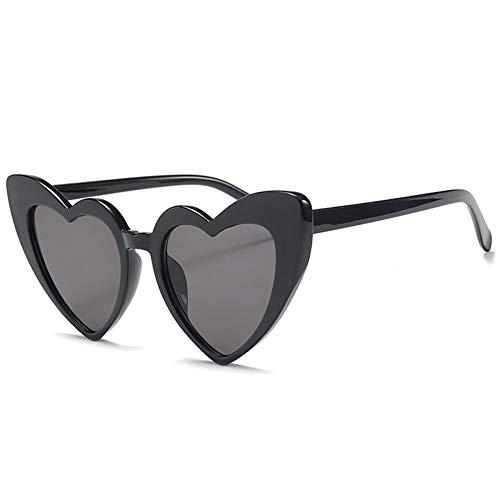 Thirteen Liebe Sonnenbrille, Anti-UV-Fahrspiegel, Geeignet Für Dekoration, Shopping, Reisen, Geeignet Für Eine Vielzahl Von Gesichtstypen. (Color : A)