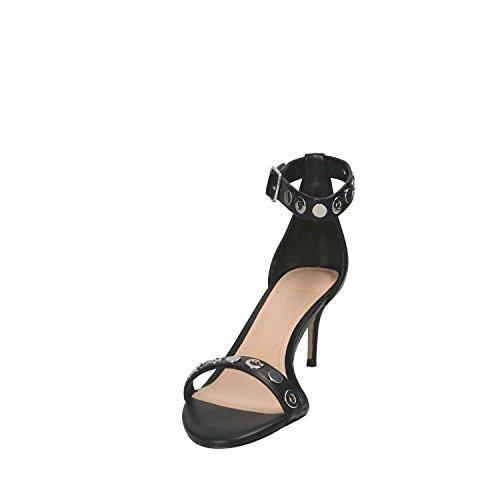 Guess Footwear Dress Sandal, Scarpe con Cinturino Alla Caviglia Donna Nero