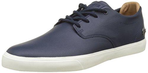 Lacoste Herren Espere 117 1 Cam Sneaker, Blau (Nvy), 43 EU
