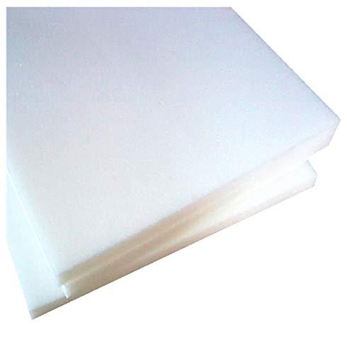EMMEVI - Capa de Espuma de Poliuretano expandido de Alta Densidad, Relleno para Cama, sofá, Silla, Tumbona