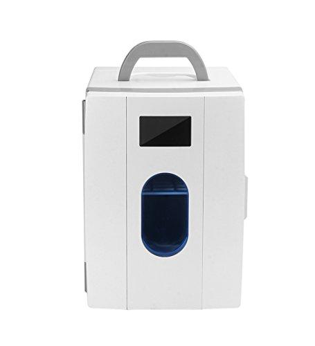 Liqicai 10l frigo campeggio 12v 230v portatile manico inclinabile