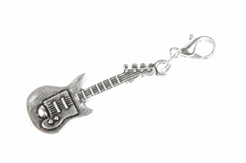 E-chitarra ciondolo a forma di chitarra Miniblings takasugi Band Superstar musica argento