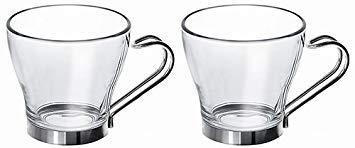 Fitting Gifts Bistro Collection Grandes Tasses à Café/Café au Lait/Thé en Verre, Blanc, 32cl (Lot de 24)