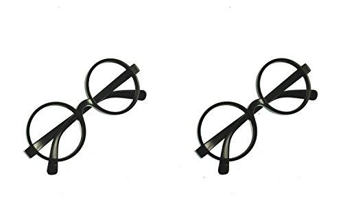 - Unisex Brille für Nerd- oder Zaubererkostüme - 2 Paar ()