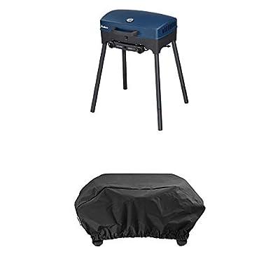 Enders BBQ Camping-Gasgrill EXPLORER, Funktionen Grillen, Kochen und Backen, 2 Gas Edelstahl-Brenner, kleiner Grill für Balkon
