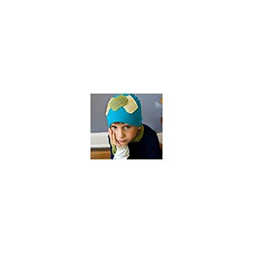 Bonnet garçon en coton fin modèle bleu clair