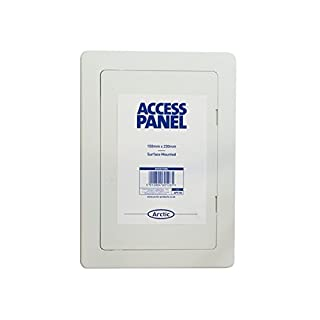 Arctic Hayes ARCAPS100 APS100 Access Panel 100 x 150mm, White, 100 x 150 mm