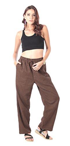 CandyHusky -  Pantaloni  - Donna Dark Brown