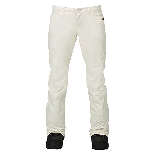 Burton pantaloni da snowboard da donna TWC on Fleek Pant, Donna, Snowboardhose TWC ON FLEEK PANT, Bianco - Stout White, S