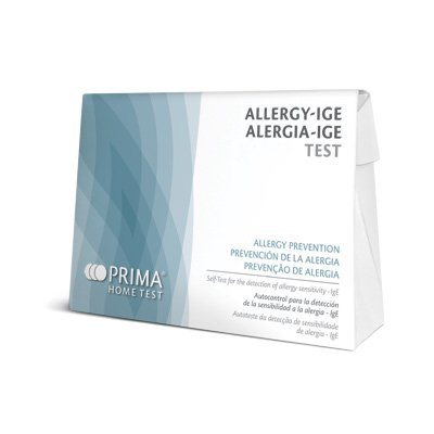 Prueba de Alergia, Test de Inmunoglobulina E - Detecta Alergia Genérica al...