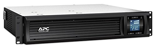 APC Smart-UPS SMC SmartConnect - SMC1000I-2UC - Unterbrechungsfreie Stromversorgung 1.000VA (Rackeinbau 2U, Cloud-monitoring fähig, 4 Ausgänge IEC-C13) -