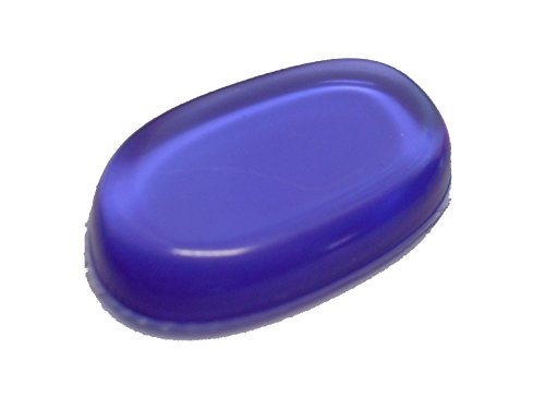 éponge de maquillage en silicone (violet)
