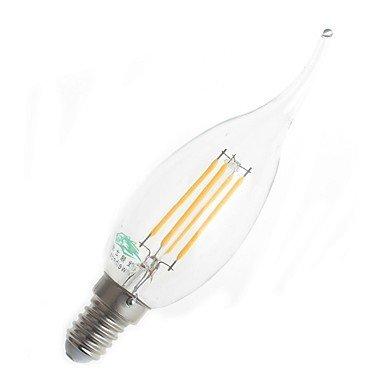 FDH 4W E14 LED bombillas de filamento CA35 4 380 lm decorativo blanco cálido 220-240 V CA