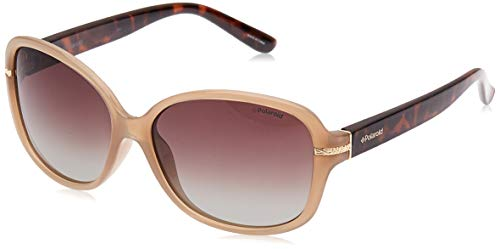 polaroid - p8419 - occhiali da sole donna rettangolare - polarizzati - materiale leggero - custodia protettiva inclusa