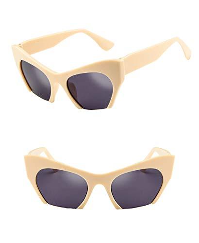 Wang-RX Sonnenbrille Frauen Halbrand Sonnenbrille Verlaufsglas Frauen Shades Uv400 Outdoor Eyewear