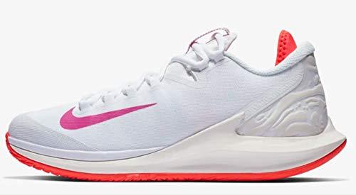 Nike Air Zoom Zero QS - Scarpe da Tennis da Donna, Bianco (White/Active Fuchsia/Phantom), 36.5 EU