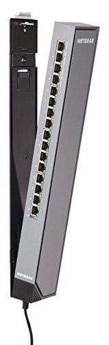 Netgear GSS116E Gigabit Smart Managed Plus Click Switch (16 Ports, ProSAFE Lifetime Protection) (Rackmount-router Wireless)
