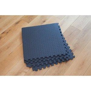Interlocking Gym Garage Anti Fatigue Flooring Play Mats 16sqft D- Easimat Branded