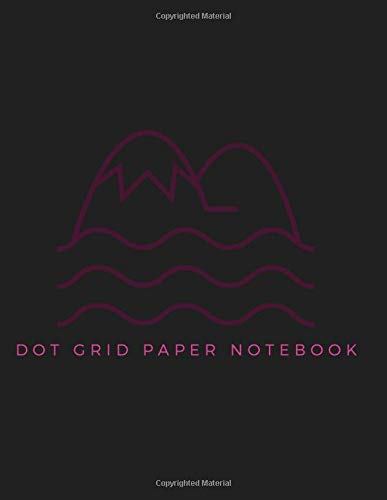 Dot Grid Paper Notebook: Dot Grid Paper Graph Dotted Journal Notebook Large 8.5 x 11 inches - 104 pages (Volumn 30)