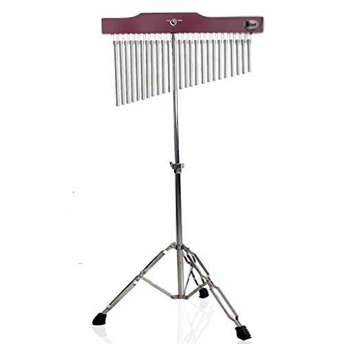 Zyj 36 Tone Wind Chimes 25 Sound Belts Stand Bühnenshow Performance Rudern Percussion Begleitung Sound Tree (Größe : 25 Tone Bundle) -