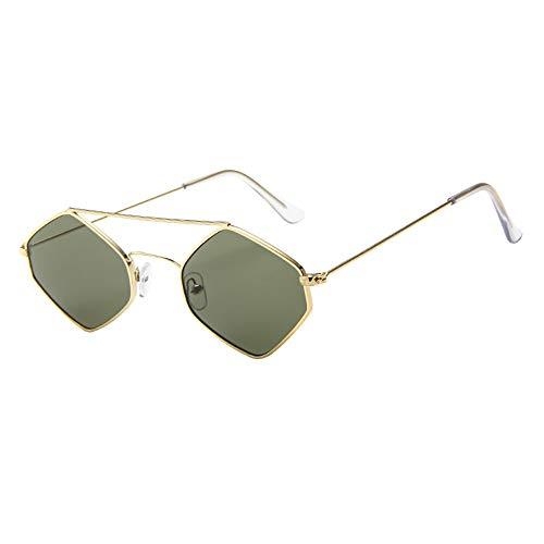 Honestyi Frauen Männer Vintage Retro Brille Unisex Rhombus Frame Sonnenbrillen Eyewear 3551 Diamant Sonnenbrille