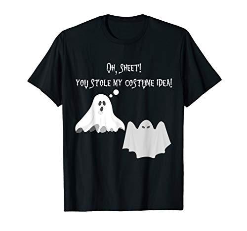 Funny Ghost Oh Blatt Pun Meme Punny Zitat Halloween T-Shirt