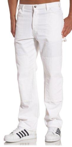 Dickies 2053 Double Knee Pant-Dienstprogramm, 46W x 32L, White -