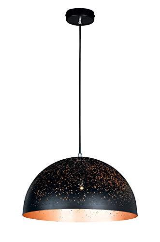WOFI Pendelleuchte, Metall, E27, 60 W, Ø: 40 cm
