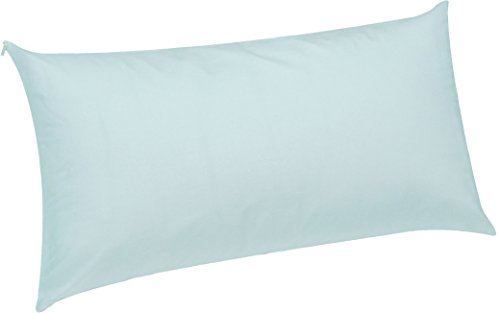 Pikolin Home - Almohada, 50% plumón de oca, doble funda, 40 x 75 cm, color blanco