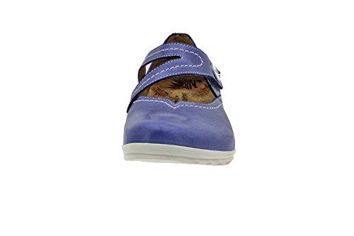 Chaussure femme confort en cuir Piesanto 6529 basket semelle amovible chaussure confortables amples Jeans
