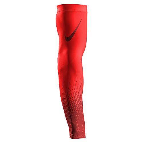 Nike Pro Flood Sleeve, Armsleeve, Armschutz, 1 Stück - rot/dunkelrot Gr. L/XL