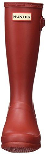Hunters Original Kids, Stivali di gomma unisex bambino Rosso (Rosso)